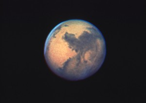 Hubblen ottama kuva Marsista. Kuva: ESA Hubble.